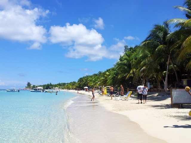 roatan beach Honduras